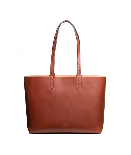 Tote with compartment
