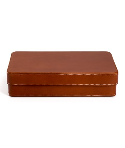 Leather box A4
